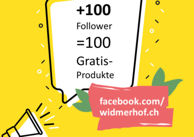 Wette:100 Follower auf Facebook
